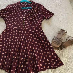 Vintage style flower dress